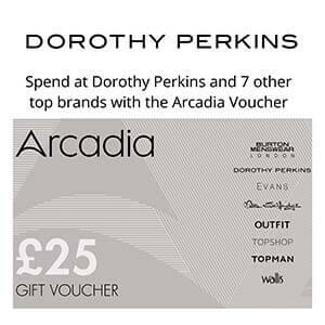 Dorothy Perkins Vouchers | Free Postage | Buy Online
